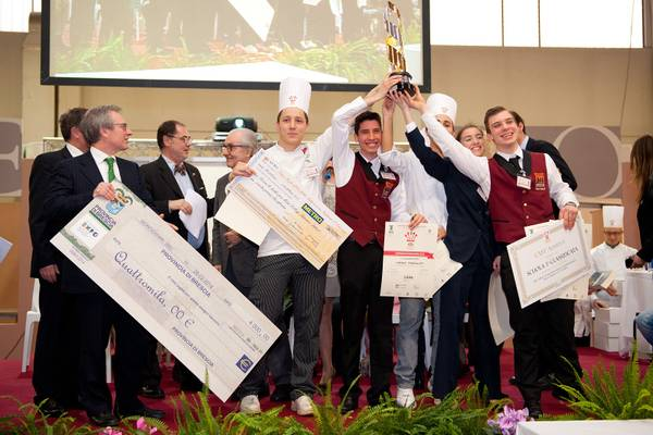 Gran trofeo d oro della ristorazione italiana fiere - Scuola carlo porta milano ...