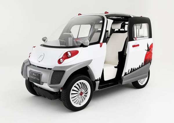 Dal Giappone l'auto elettrica galleggiante