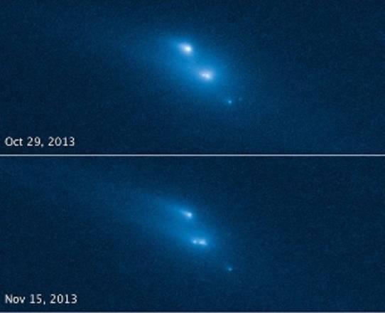 Asteroide frammentato