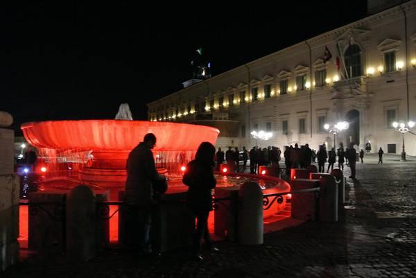 8 Marzo:Quirinale ricorda vittime; illumina di rosso fontana