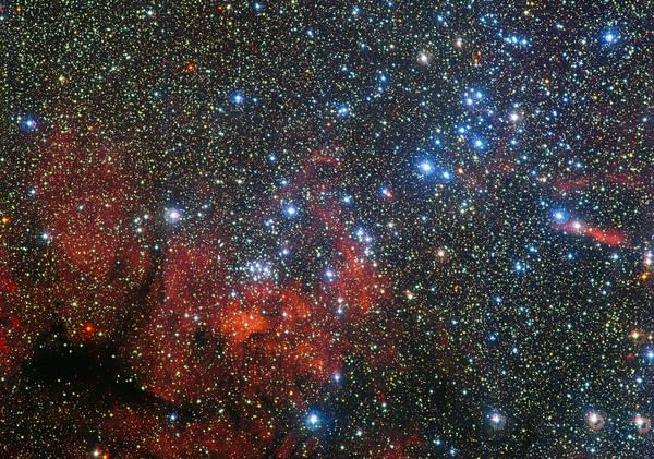 L'ammasso stellare Ngc 3590 (fonte: ESO)
