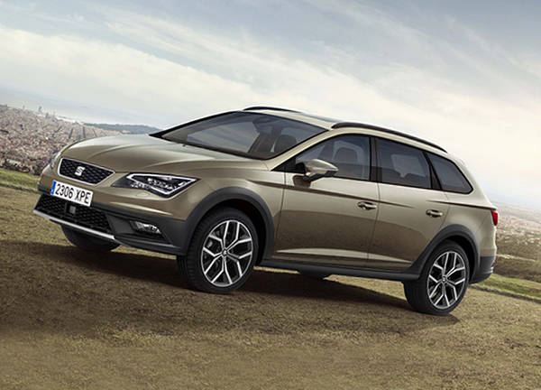 nuova seat leon x perience off road in chiave sportiva. Black Bedroom Furniture Sets. Home Design Ideas