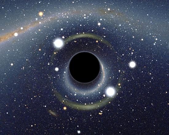 Scoperto un triplo buco nero