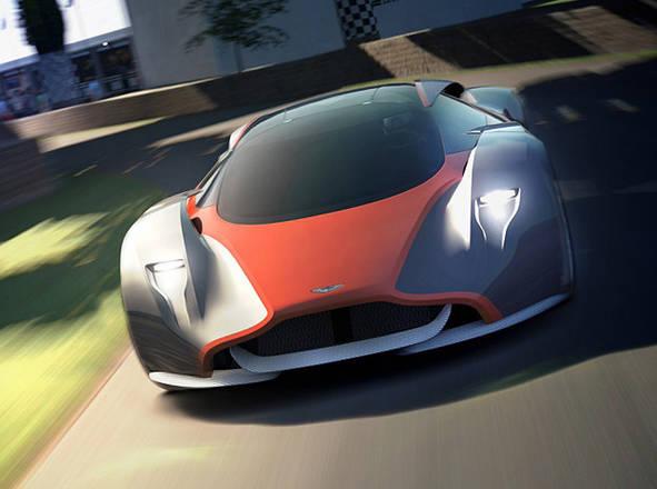 Aston Martin DP-100, nuova hypercar non solo 'virtuale'