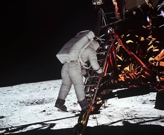 45 anni fa l'uomo scendeva sulla Luna (fonte: NASA)