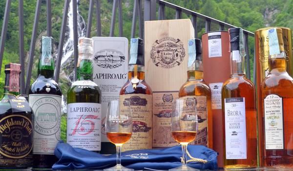 Elicottero Rosa : In elicottero sul monte rosa per degustare rari whisky