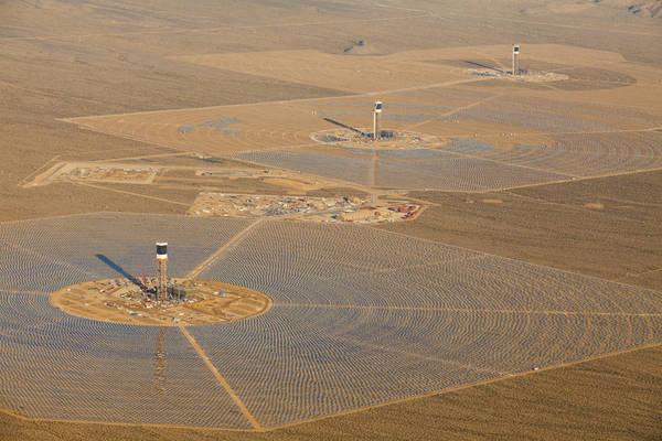 Mega-impianto solare in Usa 'brucia' migliaia uccelli  (foto: Brightsourceenergy)