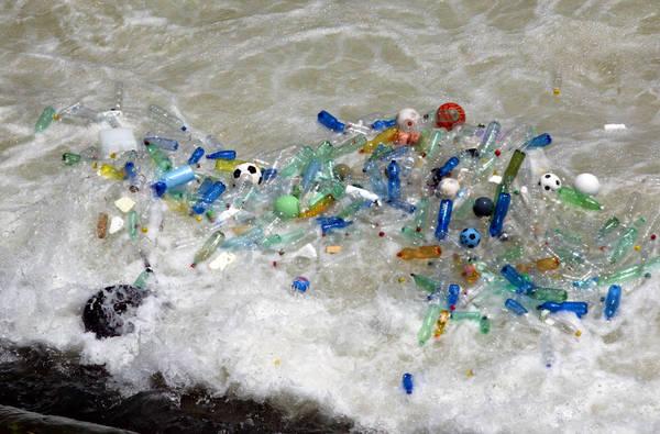 Nei mari d'Italia 27 rifiuti ogni kmq, soprattutto plastica