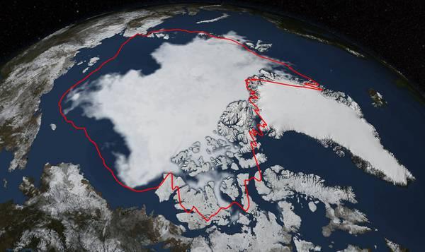 I ghiacci dell'Artico ai livelli minimi