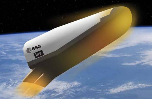La capsula di rientro europea si prepara al lancio