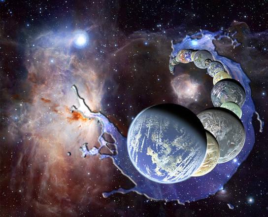 L'acqua della Terra arriva dalla polvere cosmica