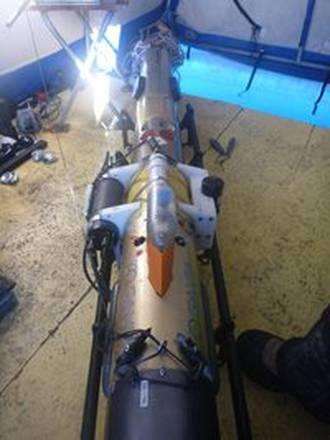 Il drone sottomarino lungo 2,5 metri (foto:  Lars Chresten Lund Hansen)
