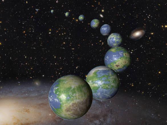 La Terra è nata molto prima delle sue 'sorelle' (fonte: NASA, ESA, and G. Bacon (STScI))