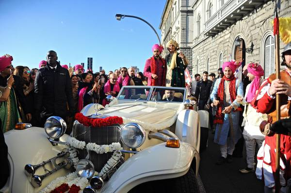 Indian millionaire's son marries in huge 14 million three-day ceremony in Florence