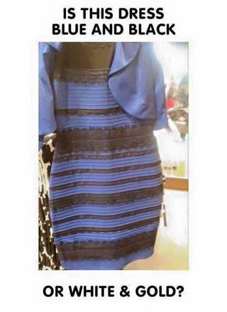 best service 66d92 ed4bc Vestito bianco e oro o nero e blu? Il gioco che divide ...