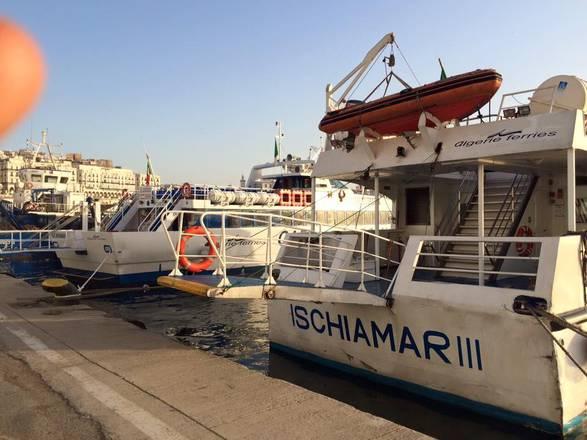 Alilauro raddoppia navi per collegamenti marittimi Algeria