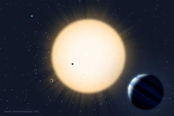 Rappresentazione artistica del pianeta roccioso più vicino alla Terra finora scoperto, chiamato HD 219134 (fonte: Avet Harutyunyan, FGG-TNG, 2015)