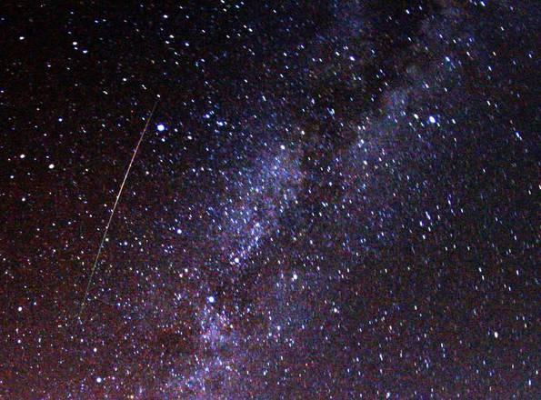 Nella notte fra il 12 e il 13 agosto è atteso il picco delle Perseidi (fonte: Brocken Inaglory)