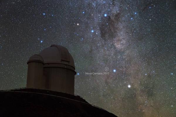 L'esplosione stellare che ha svelato il mistero del litio vista dai telescopi di Eso (fonte: Y. Beletsky (LCO)/ESO)