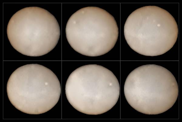 La superficie di Cerere fotografata dall'Eso (fonte: ESO, B. Yang and Z. Wahhaj)