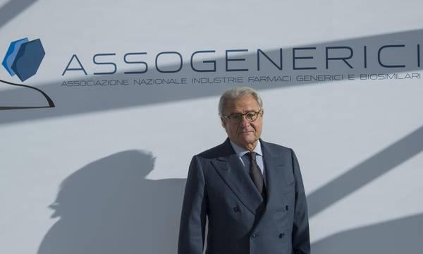 Il presidente di Assogenerici Enrique Hausermann