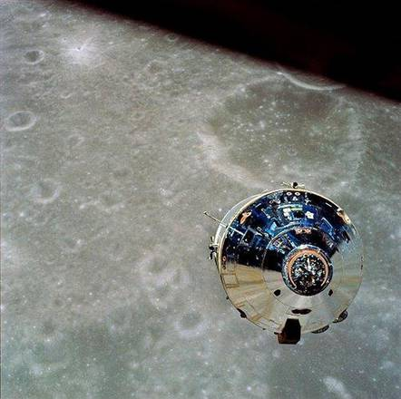 Il modulo di comando dell'Apollo 10, 'Charlie Brown'