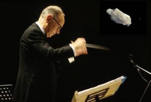 L'Unione Italiana Astrofili ha dedicato un asteroide a Ennio Morricone, per sostenere la candidatura del compositore ad un secondo Oscar (fonte: Meeting Rimini; NASA)