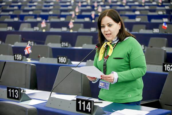 L'europarlamentare M5S Laura Agea