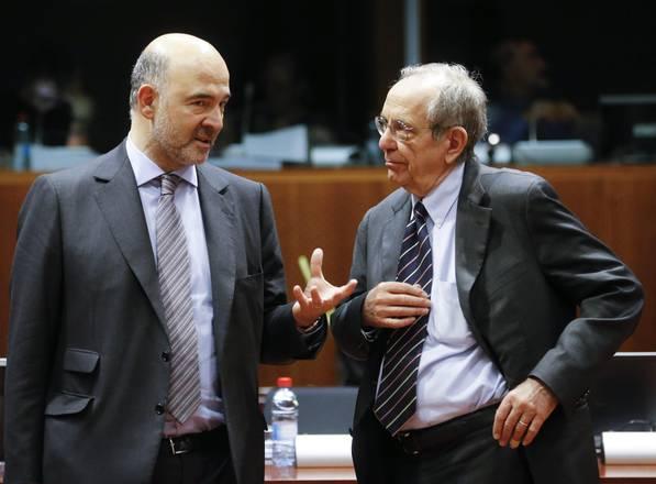 Moscovici e Padoan