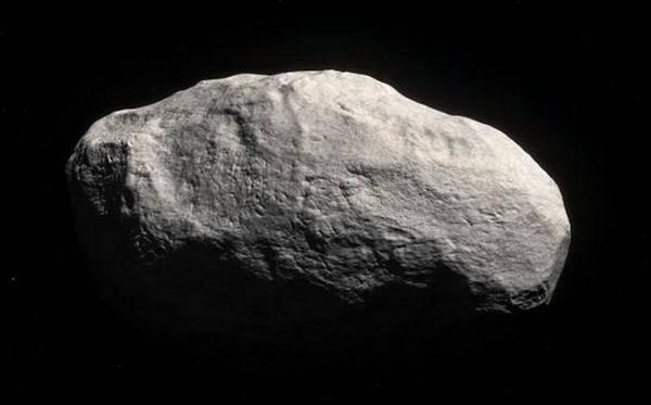 Rappresentazione artistica della cometa C/2014 S3/Panstarrs (fonte: ESO/M. Kornmesser)