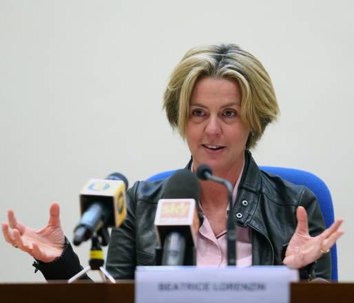 il ministro della Salute, Beatrice Lorenzin