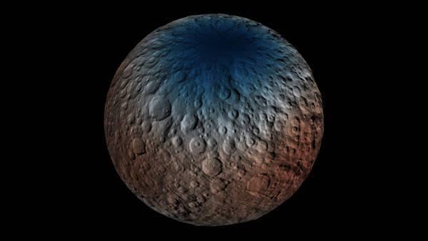 Il pianeta nano Cerere (fonte: Martin Perez)