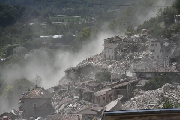 Terremoti e non solo, in Italia il rischio disastri più alto d'Europa
