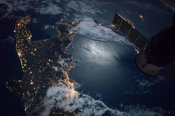 Il Sud Italia capovolto in una foto mozzafiato