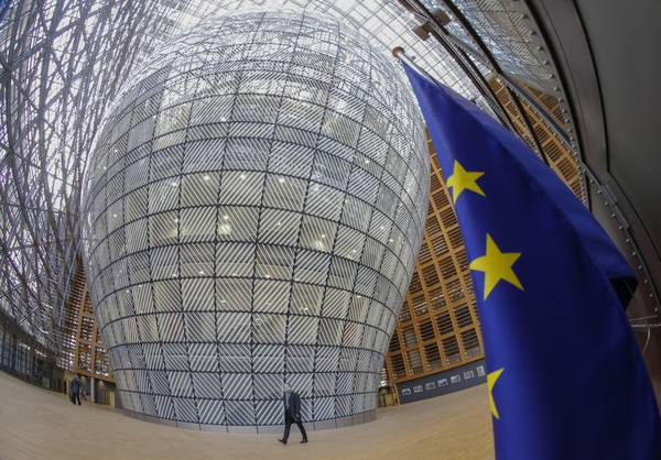 New EU council headquarters Europa Building