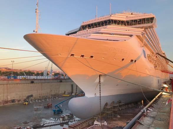 Costa crociere magica e pacifica rinnovano il look for Costa pacifica piano nave