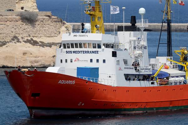 Panama authorities revoke the registration of NGO rescue vessel Aquarius