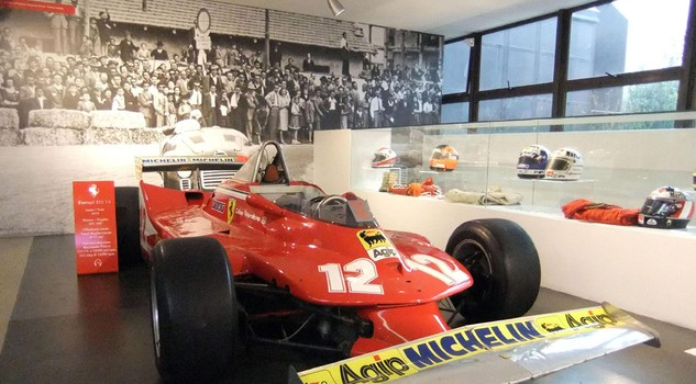 Ferrari 312 T4, the one used by Villeneuve in the legendary duel with Rene' Arnoux in Dijon in 1979 Formula 1 World Championship