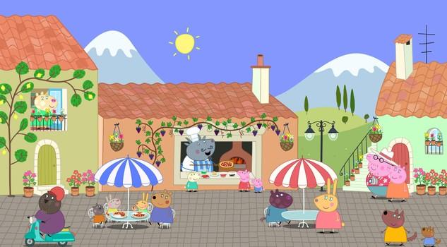 La prima volta al cinema con peppa pig libri kids - La casa delle vacanze ...