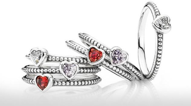 pandora anelli san valentino