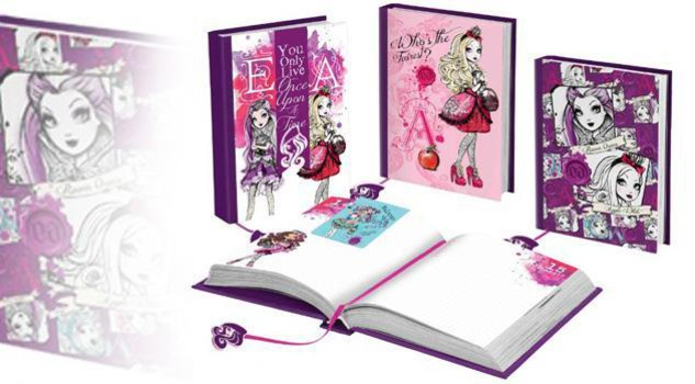 Agende fashion  Monster High da Mattel