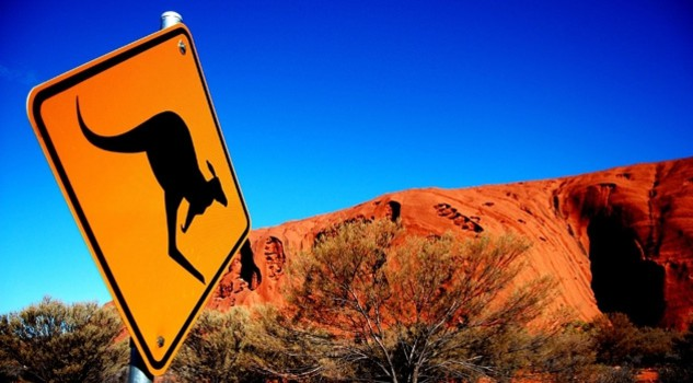 Australia, red centre- credit Angelo Zinna