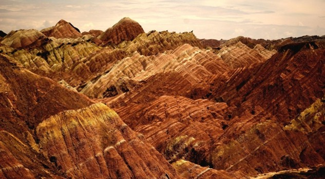 Colourful Mountains of Zhangye Danxia, China. Credit Angelo ZInna