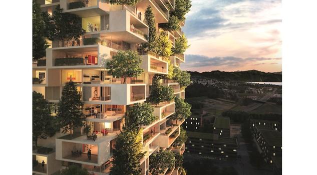 Lusso e verde dopo milano un bosco verticale anche a losanna case