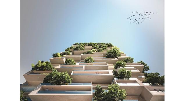 В Швейцарии построят зеленый небоскреб