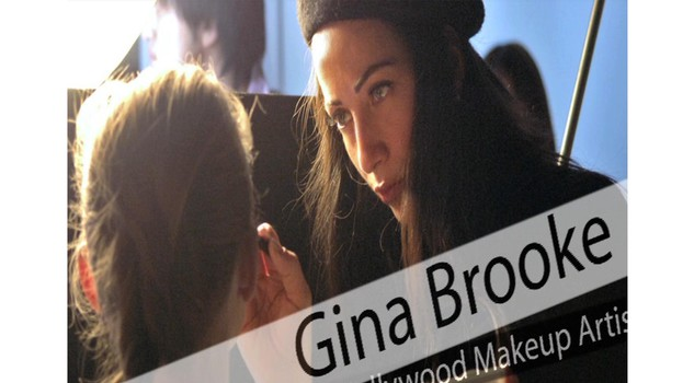 LA MAKE UP ARTIST GINA BROOKE AL LAVORO