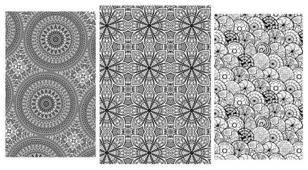 Disegni e pennarelli colorare il nuovo anti stress for Disegni di mandala semplici