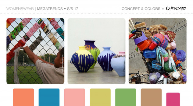 Greenery 15-0343 è il colore Pantone del 2017. La palette di 5forecaSTore sui New Fashion Trend