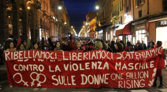 ONE BILLION RISING Bologna 2014