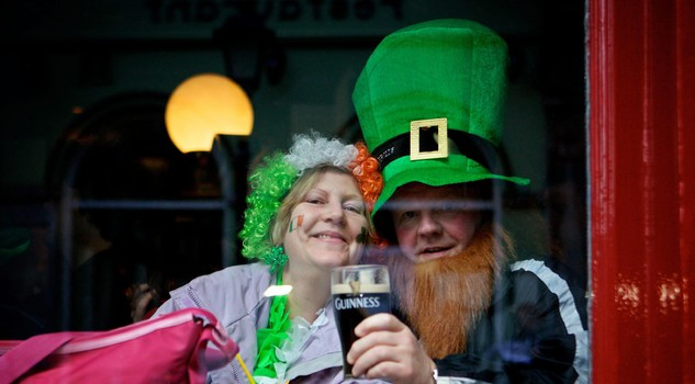 St. Patricks Day Celebrations in Dublin [ARCHIVE MATERIAL 20120317 ]